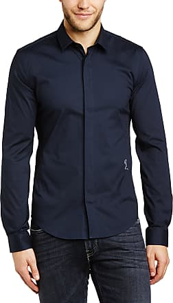 Religion Mens Legion Casual Shirt, Blue (Navy), X-Large