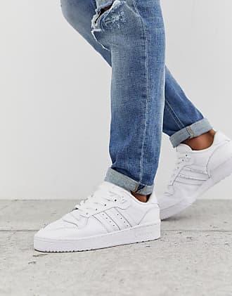 adidas Originals Rivalry - Niedrige Sneaker in Dreifach-Weiß