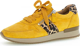 Gabor Sneaker low Gelb Rauhleder