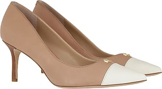 Lauren Ralph Lauren Pumps - Lanette Cap Dress Pumps Nude/Vanilla/Deep Saddle Tan - beige - Pumps for ladies