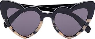 Saint Laurent Eyewear Óculos de sol New Wave Loulou - Preto