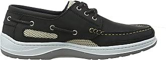 Quayside Sydney Mens Deck Shoe (Grey, 9.5)