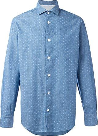 Eleventy Camisa com poás - Azul