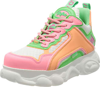 Buffalo Chai, Womens Hi-Top Trainers, Multicolour (Neon 000), 5 UK (38 EU)