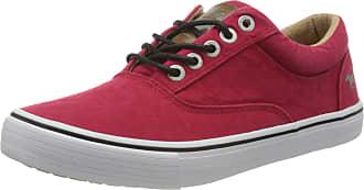 Mustang Womens 1225-303-5 Low-Top Sneakers, Red (Rot 5), 6.5 UK