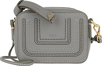 Chloé Cross Body Bags - Flat Pouche Cashmere Grey - grey - Cross Body Bags for ladies
