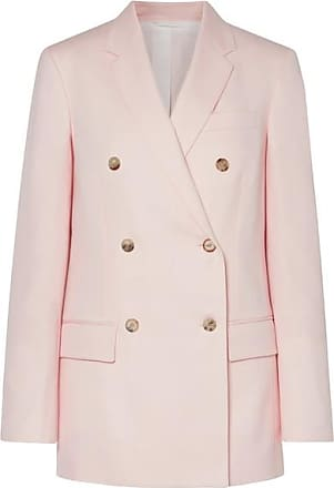 CALVIN KLEIN 205W39NYC Double-breasted Wool-twill Blazer - Pastel pink