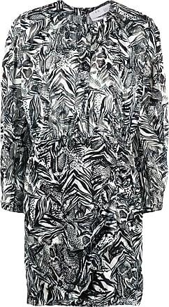 Iro Vestido Fenian animal print - Preto