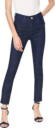 Zune Jeans Calça Jeans Zune Skinny Logo Azul