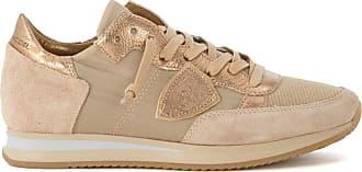 beige Philippe Basket Model et tissu et suède en Tropez bronze nC0Hwq1