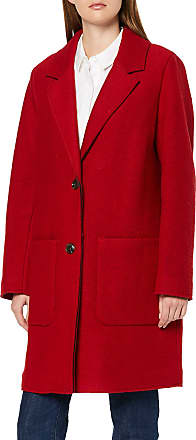 EDC by Esprit Womens 089cc1g022 Coat, Red (Dark Red 610), X-Small
