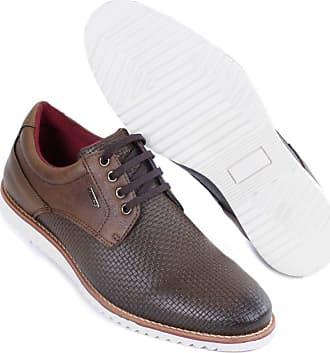 Hype Sapato Casual Masculino Oxford Hype Em Sintético 1003 (43, Tabaco)