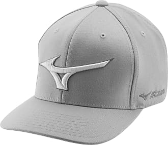 Mizuno Mens Diamond Snapback Baseball Cap, Grey (Gris/Rojo 62), One (Size: NS)