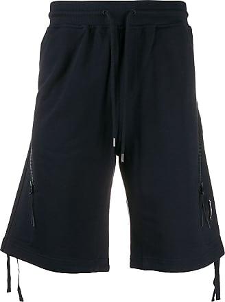 C.P. Company Short com cordão de ajuste - Azul