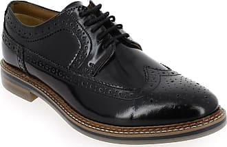 eeffa1ca3d4a8 Base London Chaussures à lacets Base London Homme TURNER noir SOLDES