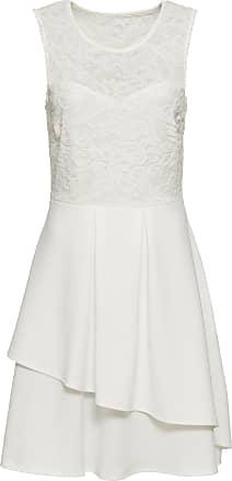 BODYFLIRT boutique Dam Klänning med spets i vit utan ärm - BODYFLIRT  boutique 66597ee82ce2b