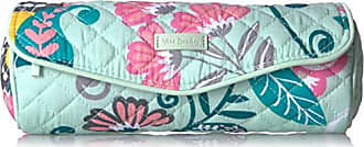 Vera Bradley Iconic On a Roll Case, Signature Cotton, Mint Flowers