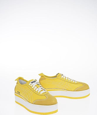 GCDS ONITSUKA TIGER 5 cm Leather Sneakers with Platform size 39