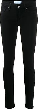 7 For All Mankind Calça jeans skinny cintura baixa - Preto