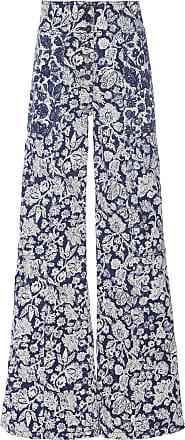 Ulla Johnson Greer Stretch High-Rise Wide-Leg Jeans