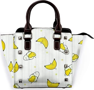 Browncin Naked Banana Emoji Detachable Fashion Trend Ladies Handbag Shoulder Bag Messenger Bags