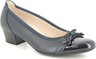 af6f59deb Gabor 22.205.66 Hayley Navy Patent Womens Heeled Shoes