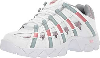K-Swiss Womens ST429 Sneaker, White/Abyss/Coral Blush, 9.5 M US