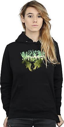 Harry Potter Womens Magical Forest Hoodie Small Black