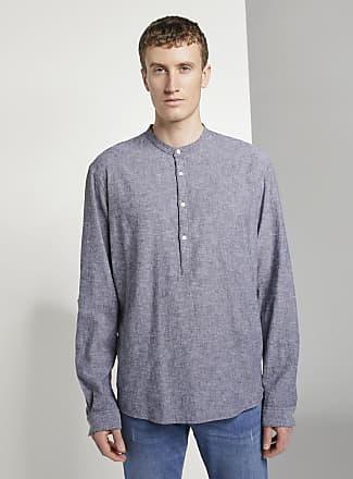 Tom Tailor DENIM - Hemd mit halber Knopfleiste