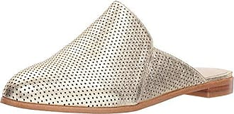 Kenneth Cole Womens Roxanne 2 Mule with Perf Upper, Soft Gold, 7.5 M US