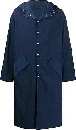 Kenzo Casaco impermeável com bordado - Azul