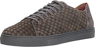 Donald J Pliner Mens Alto Sneaker, Charcoal, 11.5 M US