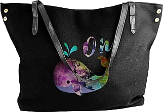 Juju Funny Animal Pun Womens Classic Shoulder Portable Big Tote Handbag Work Canvas Bags