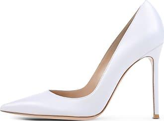 EDEFS Womens Court Shoes Stiletto High Heels Slip On Pumps Pointed Toe Shoes Matte Size EU43