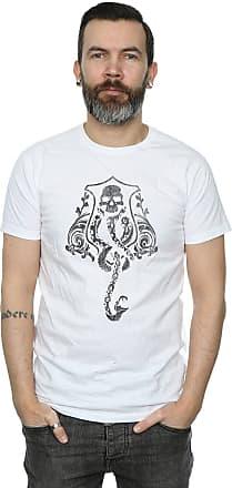 Harry Potter Mens Dark Mark Crest T-Shirt XX-Large White