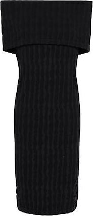 Wolford Wolford Woman Off-the-shoulder Stretch-modal Jersey Dress Black Size XS