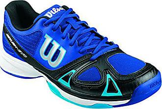 low priced c0b73 031c4 Wilson Rush Evo W BK 12, Chaussures de Tennis Homme, Bleu (Surf