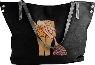 Juju Craziest Moments In Tennis Womens Classic Shoulder Portable Big Tote Handbag Work Canvas Bags