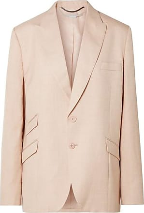 Stella McCartney Oversized Woven Blazer - Blush