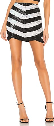 X by NBD Stacy Embellished Mini Skirt in Black