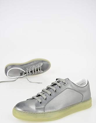 Lanvin Metallic Leather Sneakers size 6