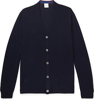 Paul Smith Merino Wool Cardigan - Navy
