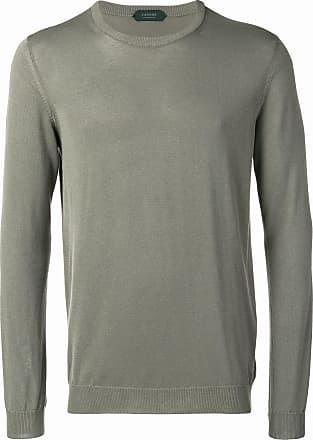 Zanone basic longsleeved sweater - Green