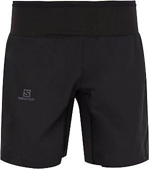 Salomon Trail Runner Waist-panel Shorts - Mens - Black