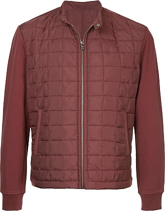 Durban zip-up padded jacket - Red