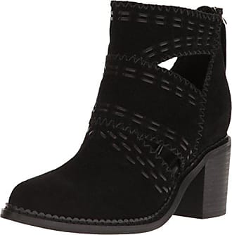 Sbicca Womens Jossly Ankle Bootie, Black, 8.5 B US