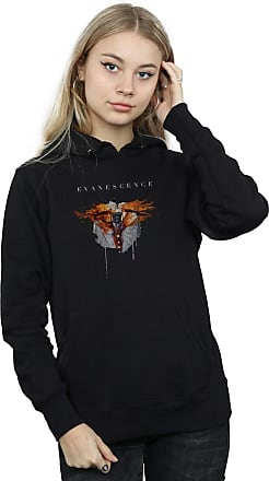 Absolute Cult Evanescence Womens Amy Synthesis Hoodie Black X-Large