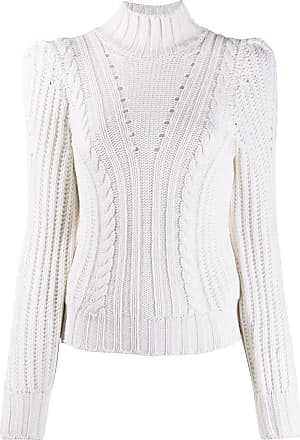 Dondup fitted cable knit jumper - Branco