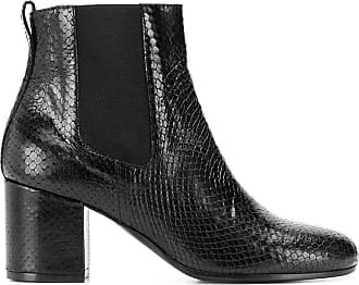 Via Roma 15 Fashion Woman 2563PITNERO Black Leather Ankle Boots | Fall Winter 19