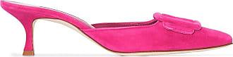Manolo Blahnik Pumps Maysale con fibbia - Di colore rosa